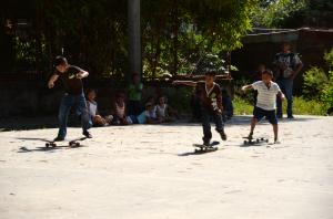 Skate club - Quetzaltrekkers Leon Nicaragua - El Fortin
