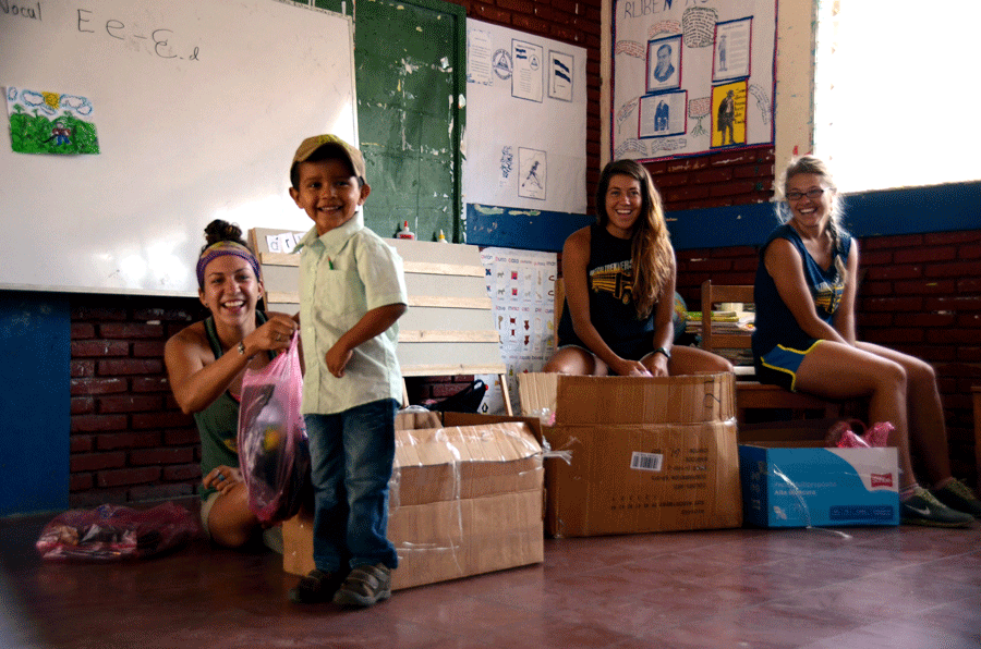 Somoto School Donation | Quetzaltrekkers Nicaragua | #education