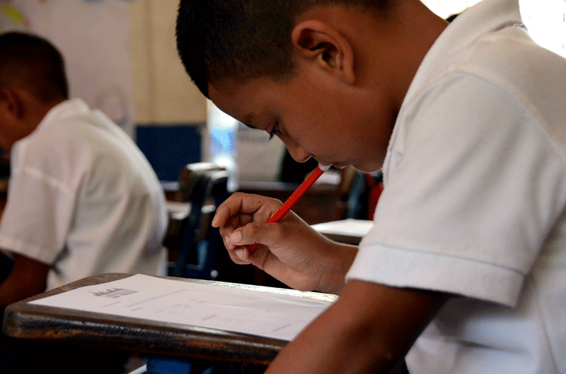 School Math competition | Quetzaltrekkers Nicaragua | #education