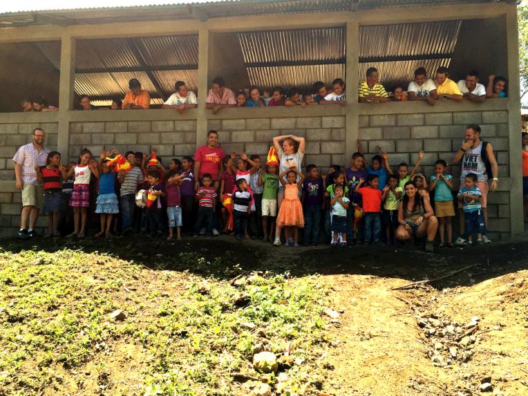 Special nonprofit project School volcano Telica | Quetzaltrekkers Nicaragua | #hiking