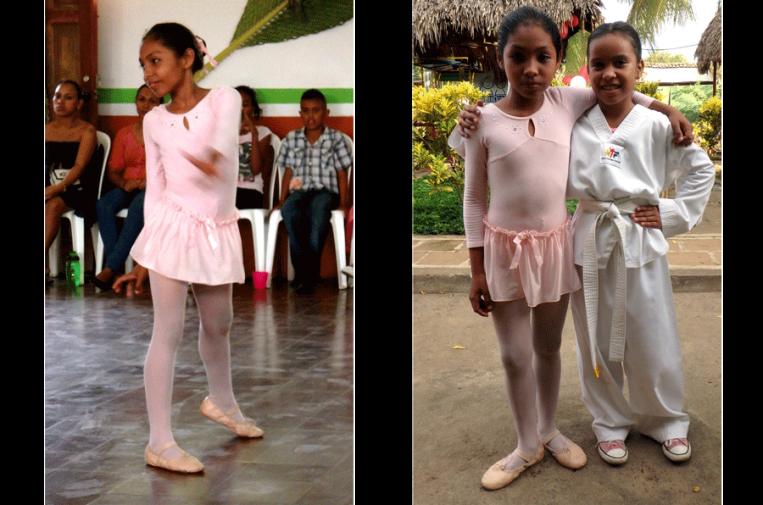 Scolarship for dance and taekondo | Quetzaltrekkers Nicaragua | #education