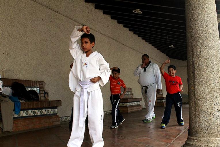 Martial Arts at the Casa de Cultura