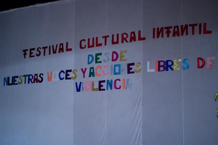 Festival for violence against children